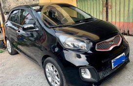 Sell Black 2014 Kia Picanto in Paranaque City