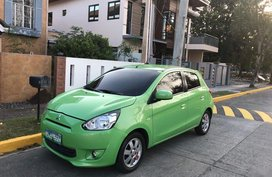 Green Mitsubishi Mirage 2013 for sale in Imus