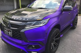 Purple Mitsubishi Montero 2016 for sale in Manila