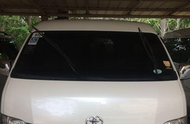 White Toyota Hiace 2015 for sale in Cebu City