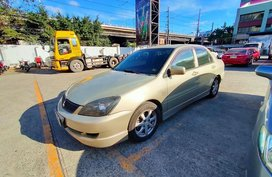 Beige Mitsubishi Lancer 2010 for sale in Parañaque City