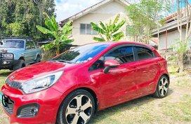 Selling Red Kia Rio 2012 in Cebu City