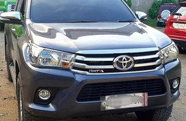 Sell Grey 2017 Toyota Hilux in Davao City