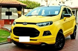 Yellow Ford Ecosport 2014 for sale in Paranaque City