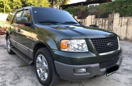 Green Ford Expedition 2003 for sale in San Juan