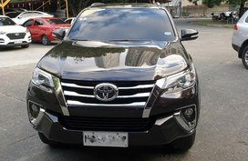 Black Toyota Fortuner 2017 for sale in Pasig