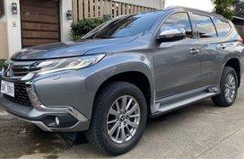 Sell Grey 2016 Mitsubishi Montero in Quezon City
