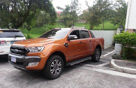 Sell Orange 2015 Ford Ranger in Manila