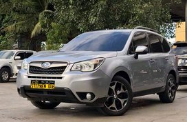 2014 Subaru Forester i-premium Silver