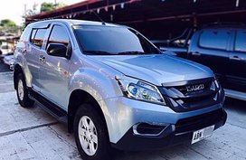 2015 ISUZU MUX LS-A 4x2 MANUAL TRANSMISSION