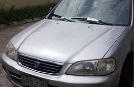 Sell Silver 2001 Honda City in General Trias