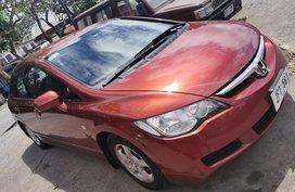 Red Honda Civic 2006 for sale in Manila