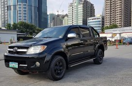 Sell Black 2007 Toyota Hilux in Cainta