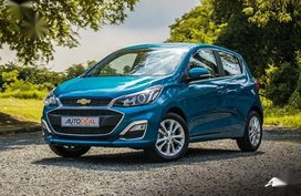 Blue Chevrolet Spark 0 for sale in