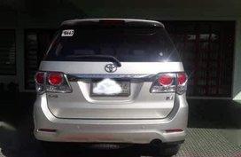 Selling Silver Toyota Fortuner 2016 in Trece Martires