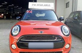 Orange Mini Cooper 2019 for sale in Manila