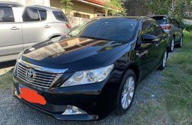 Sell Black 2013 Toyota Camry in Quezon City