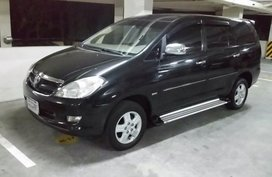 Black Toyota Innova 2006 for sale in Manila