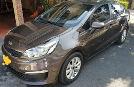 Selling Black Kia Rio 2016 in Manila