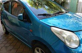 Blue Suzuki Celerio 2011 for sale in Manila