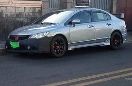Silver Honda Civic 2006 for sale in Manual