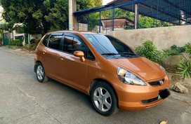 Golden Honda Fit 2001 for sale in Quezon City