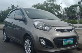 Grey Kia Picanto 2010 for sale in Automatic