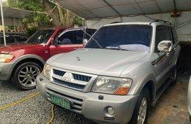 Silver Mitsubishi Pajero 2003 for sale in Malabon