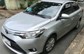 Silver Toyota Vios 2017 for sale in Automatic