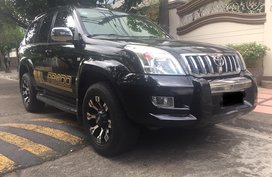 Black Toyota Land cruiser prado 2007 for sale in Quezon