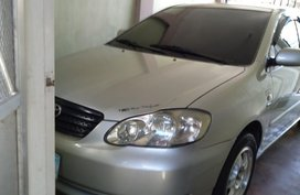 White Toyota Corolla altis 2005 for sale in Automatic