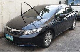 Selling Black Honda Civic 2013 in Manila