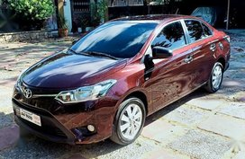 Red Toyota Vios 2018 for sale in Automatic