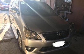 Selling Silver Toyota Innova 2013 in San Miguel