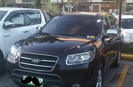 Black Hyundai Santa Fe 2009 for sale in Quezon City