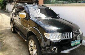 Black Mitsubishi Montero sport 2012 for sale in Manila
