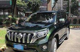 Selling Green Toyota Land cruiser prado 2014 in Manila