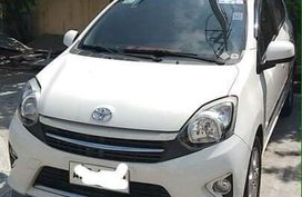 White Toyota Wigo 2016 for sale in Automatic