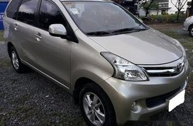Beige Toyota Avanza 2014 for sale in Manila