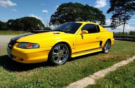 Yellow Ford Mustang 1994 for sale in Manila