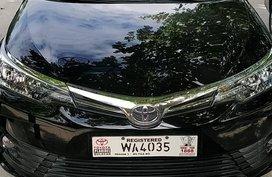 2017 Toyota Altis 1.6 G