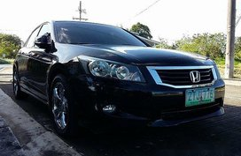 Black Honda Accord 2009 for sale in Automatic
