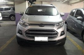 Silver Ford Ecosport 2016 for sale in Automatic