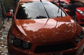 Sell Orange 2015 Chevrolet Sonic in Manila