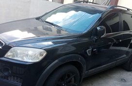Sell Black 2008 Chevrolet Captiva in Valenzuela