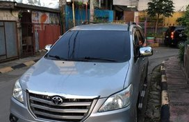 Silver Toyota Innova 2015 for sale in Pasig