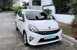 Selling White Toyota Wigo 2016 in Parañaque