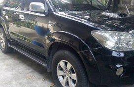 Black Toyota Fortuner 2006 for sale in Bacoor