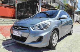 Silver  Hyundai Accent 2019 for sale in Quezon City