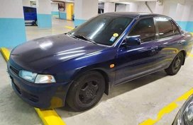 Blue Mitsubishi Lancer 2016 for sale in Automatic
